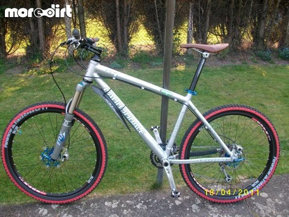 Cannondale F4 In Silver Hardtails 29656