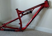 2014 Transition Bandit frame Red. M-17.5