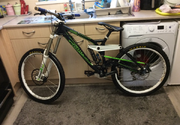 Kona stab Deluxe mountain bike