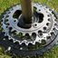 Shimano XT FC-M780 HollowTech II Triple 10-Speed Chainset