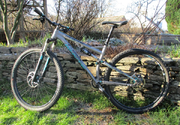 Whyte T129s 29er Medium trail bike. New chain set, freshly serviced forks & rear shock.