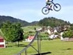 Epic Fail!! Guy Jumps Huge Ramp With No Landing!