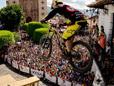 Mick Hannah race run - Urban Downhill Taxco 2014