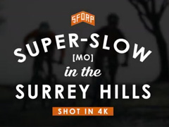 Super Slow Motion MTB in the Surrey Hills 4K