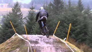 Trackside - 2016 British Downhill Series Ae Forest, Scotland