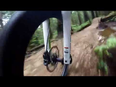 Mountain biking North Shore - Esspreso trail - GoPro