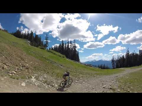 Whistler bike park. A bikers heaven.