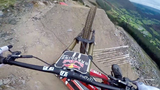 Dan Atherton Sends It Down the Hardline MTB Track