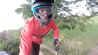 A ride down Full Moto at Black Mountain Cycle Centre