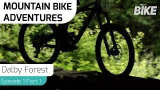 Mountain Bike Adventures Dalby Forest Part One