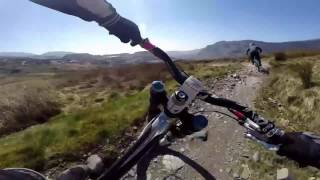 Antur Stiniog Dh 07/04/2017 with gimbal