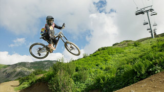 The Sickest Bikepark Line Ever