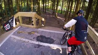 Longleat Forest Windhill Bike Park Jump Line and Enduro Downhill