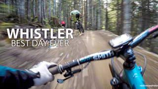Whistler Bike Park's Newest Trail - Line Of Control