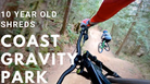 10 year old shreds massive jumps | Coast Gravity Park