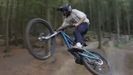 50to01 style it up at Windhill Bike Park