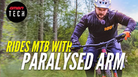 How to Ride A Mountain Bike With A Paralyzed Arm