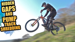 Sam Pilgrim - Hidden Gap Jumps at Hadleigh Bike Park