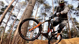 Ben Deakin checks out Swinley Forest's new skills area