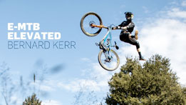 Bernard Kerr Gets Elevated on his e-MTB in New Zealand