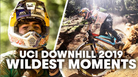 Best Saves & Bails of A Wild 2019 Downhill World Cup Season