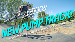 Danny Hart - Chopwell's new Velosolutions pump track!