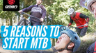 5 Reasons Everyone Should Start Mountain Biking
