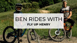 Can a 9 year old keep up with a pro mountain biker?