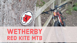 Wetherby Red Kite mountain bike trail