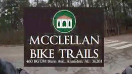 Fort McClellan Mountain Bike Trail