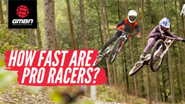 How Fast Are Pro Mountain Bike Racers?