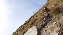 Fast Lap Down Coronet Peak with Sam Blenkinsop