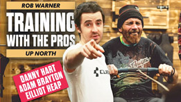 Rob Warner Training With The Pros Up North