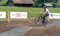 Brendan Fairclough tests Claudio Caluori's latest pumptrack