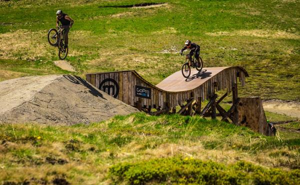 Mottolino bikepark: NEW slopestyle course open