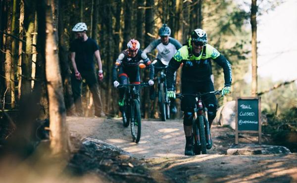 New mountain bike trail opens at Lady Cannings
