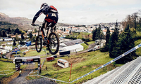 Join Claudio Caluori for the Lourdes DH track preview