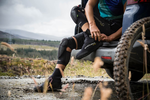 The first ever mountain bike overshoe for flat pedals