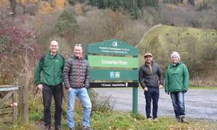 New uplift service at Innerleithen and Ae forests in top gear