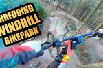 Sam Pilgrim Shredding Windhill Bike Park On A E-Bike!