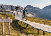 Mountain Biking at Carosello 3000 - Livigno