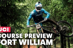 Video: Course Preview with Gee Atherton - Fort William DH World Cup 2019