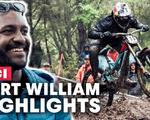 VIDEO: Highlights From The Fort William World Cup Downhill