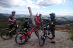 Athertons launch Coaching at Dyfi Bike Park