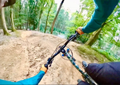 Watch: Riding the new GBU Downhill trail at the Forest of Dean