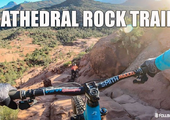 Scariest Trail in Sedona? Nate Hills rides the Cathedral Rock Trail