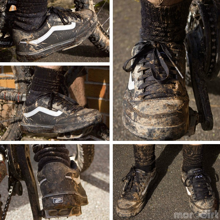 vans mountain bike shoes