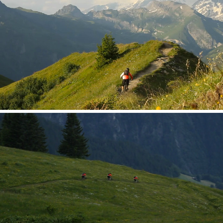 Les Arcs with Trail Addiction 2014 - YouTube