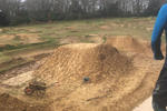 The new jump line at Southampton Bike Park is taking shape!