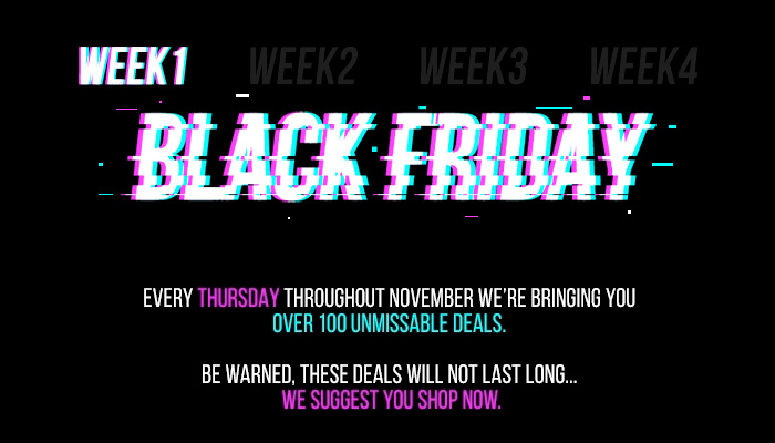 Black Friday CRC